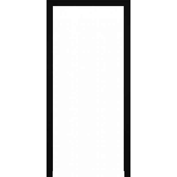 Obložková zárubeň Naturel 90 cm pro tloušťku stěny 12-14 cm pravá O3CER90PB