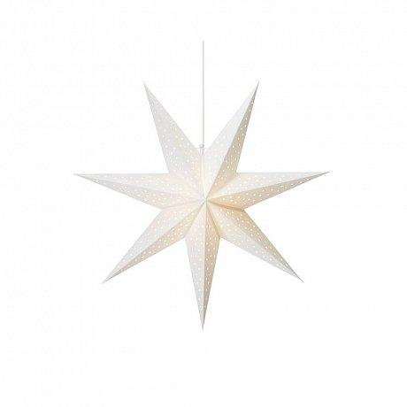 Bílá závěsná světelná dekorace Markslöjd Clara,výška75cm