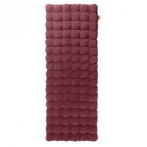 Fialová relaxační masážní matrace Linda Vrňáková Bubbles 65x200cm
