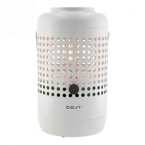 Světle šedá plynová lampa Cosi Drop, výška 37 cm