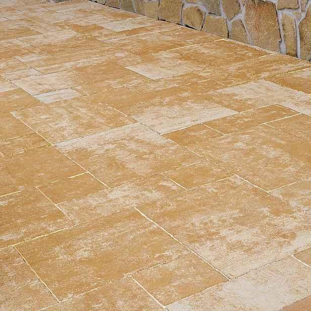 Dlažba betonová DITON SETA barva areno, výška 60 mm