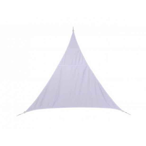 Stínící plachta trojúhelník 3*3*3 m bílá