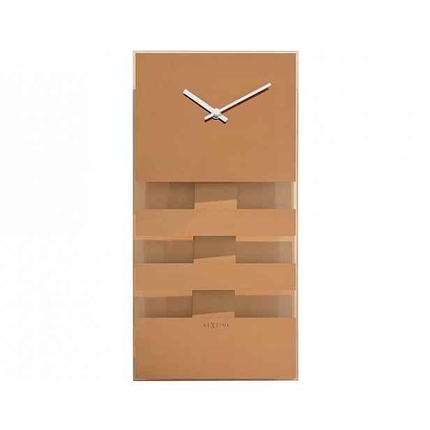 Designové nástěnné hodiny 2855CO Nextime 38 cm
