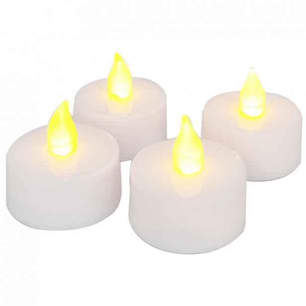 XXXLutz SADA LED SVÍČEK 4dílné, plast, provoz na baterie Ambia Home - LED svíčky - 0039700038