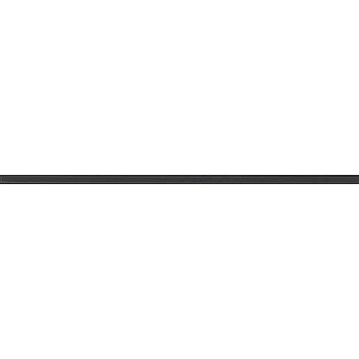 Listela Rako Tendence černá 1x60 cm lesk WLASW052.1