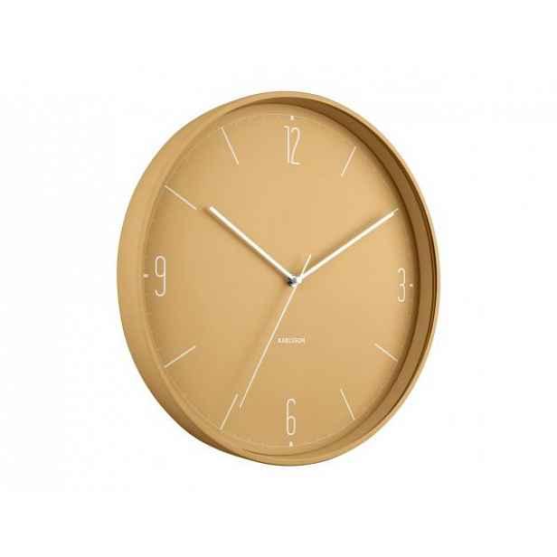 Designové nástěnné hodiny 5735YE Karlsson 40cm