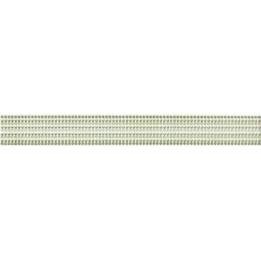 Listela Rako Vanity zelená 5x40 cm mat WLAMH014.1