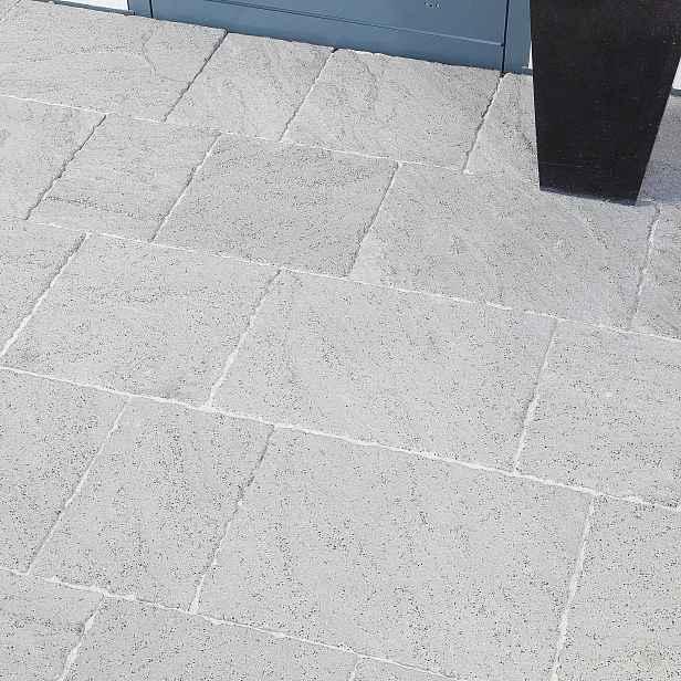 Betonová dlažba BEST ALTEA, povrch inspiro, UV úprava, barva přírodní, výška 60 mm