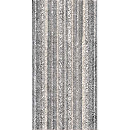 Dekor Rako Unistone šedá 20x40 cm mat WITMB045.1