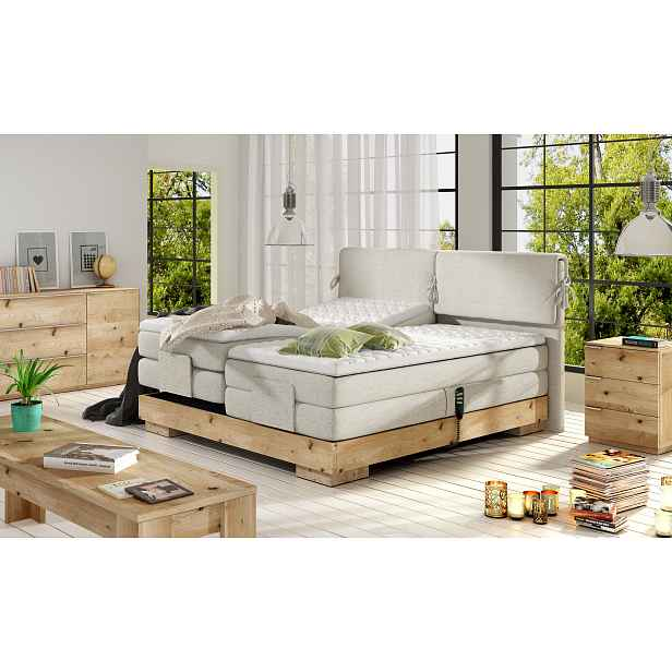 Luxusní box spring postel Valle 160x200 HELCEL