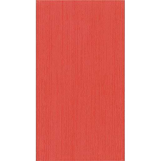Obklad Fineza Via veneto rosso 25x45 cm mat WARP3006.1