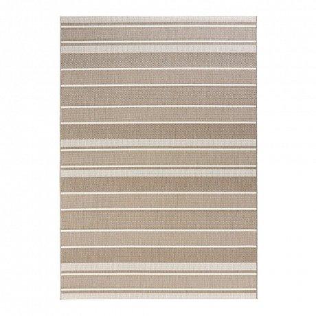 Béžový venkovní koberec Bougari Strap, 160x230cm