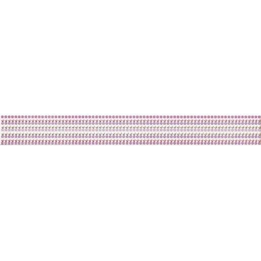 Listela Rako Vanity fialová 5x40 cm mat WLAMH015.1