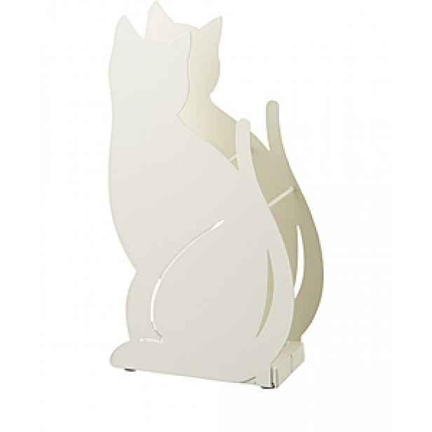 Stojan na deštníky YAMAZAKI Cat 2358, krémový HELCEL