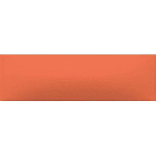 Dekor Rako Concept Plus oranžová 6x20 cm lesk WARDT001.1