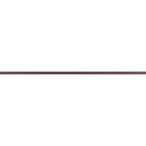 Listela Rako Charme bordo 2x60 cm mat WLASW002.1