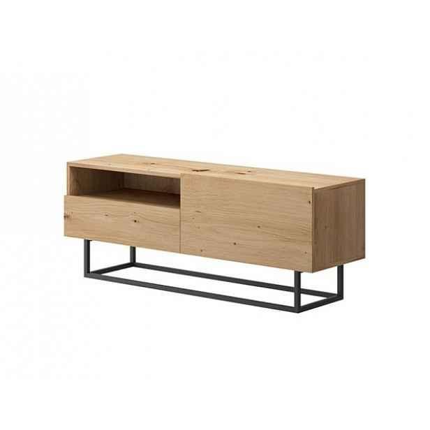 RTV stolek bez podstavy Spring ERTVSZ120, dub artisan