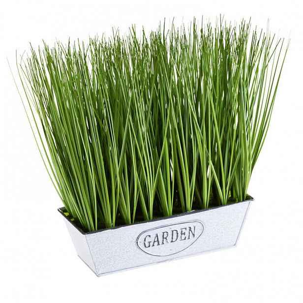 Okrasná tráva v truhlíku vel. M