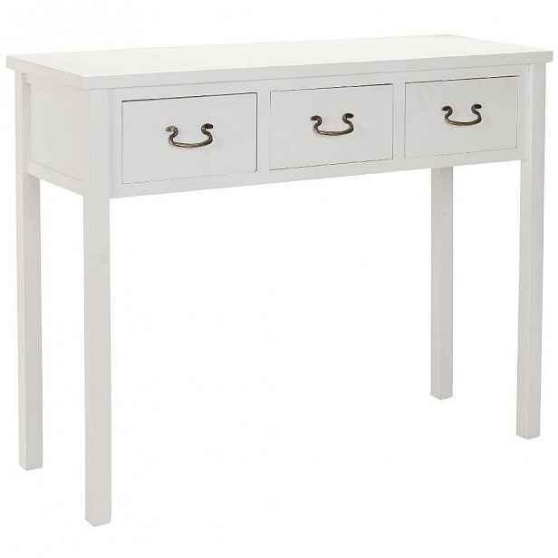 Bílý konzolový stolek Safavieh Riley