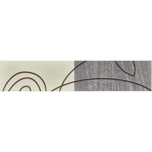 Listela Multi Nora šedá 5x25 cm mat WLAGE199.1