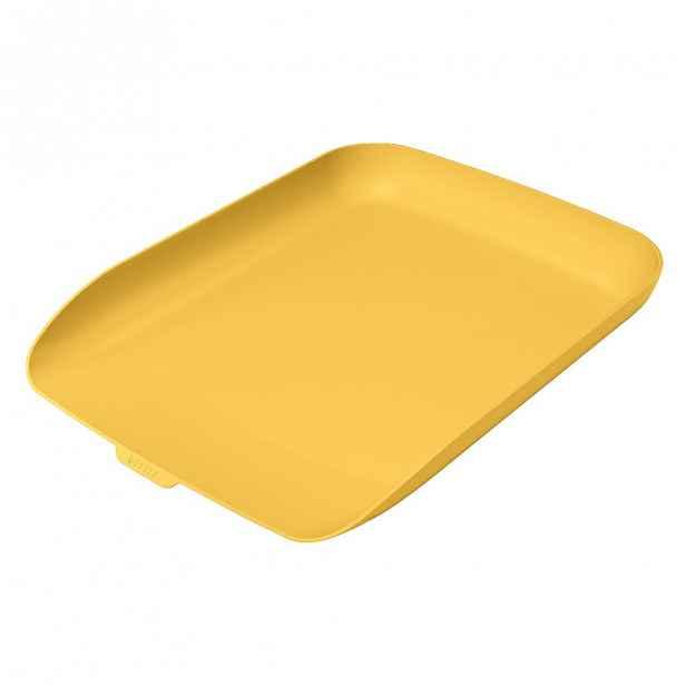 Žlutý odkladač na dokumenty Leitz Cosy