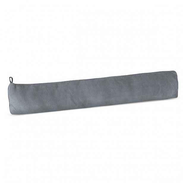 Bellatex Ozdobný těsnicí polštář LIN UNI šedá, 90 x 15 cm
