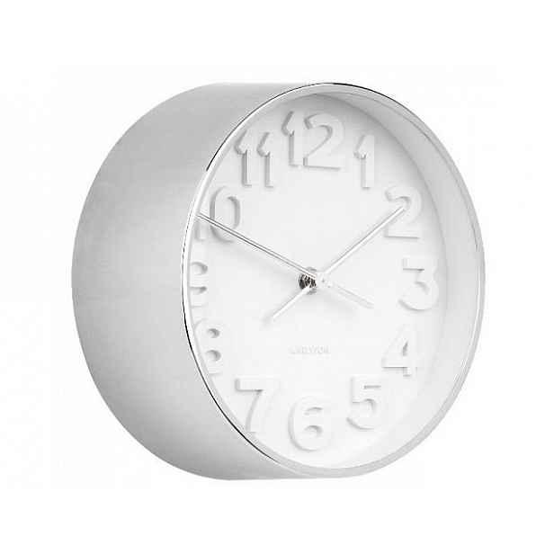 Designové nástěnné hodiny 5692CH Karlsson 22cm