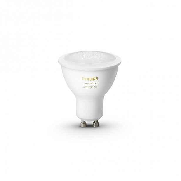 Žárovka LED GU10 Philips Hue white ambiance 5,5W