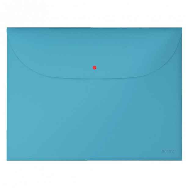 Modrá aktovka na dokumenty Leitz Cosy, A4