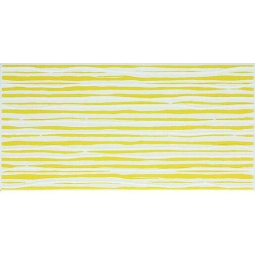 Dekor Fineza Happy žlutá 20x40 cm lesk DHAP40YE