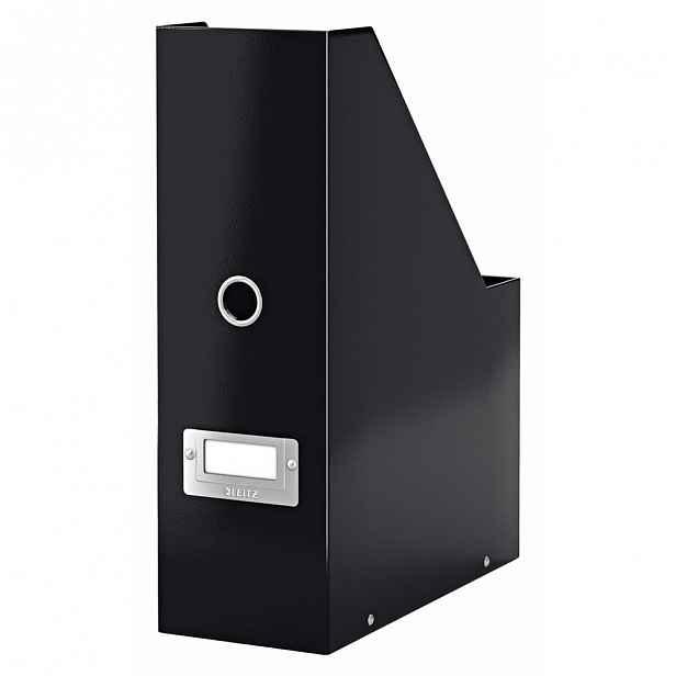 Černý stojan na dokumenty Leitz Office