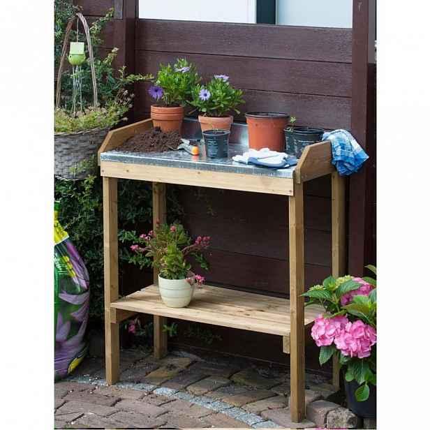 Přesazovací stolek pro výsev a výsadbu