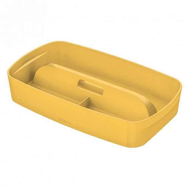 Žlutý přenosný organizér s držadlem Leitz Cosy