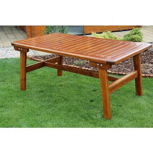 Zahradní stůl Gold - velký Ořech 16
