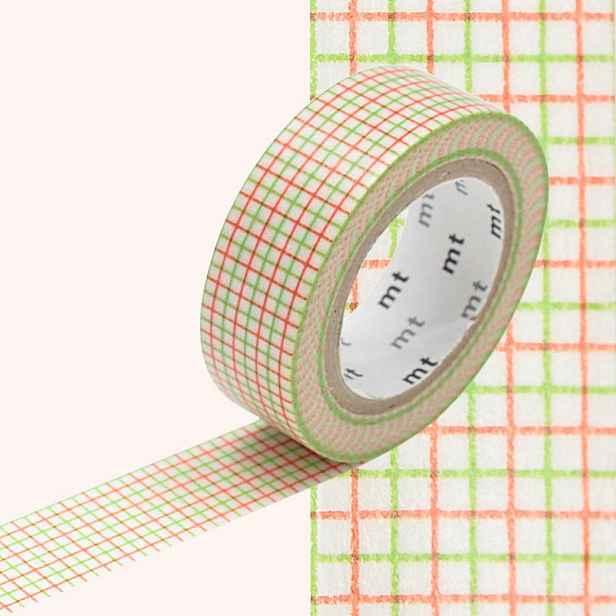 Washi páska MT Masking Tape Rosaire, návin10m