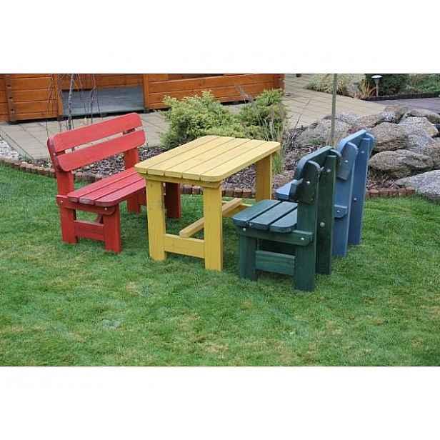 Dětská zahradní sestava Bez povrchové úpravy