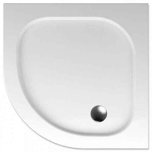 Sprchová vanička čtvrtkruhová Teiko Peleus 90x90 cm akrylát V131090N32T06001