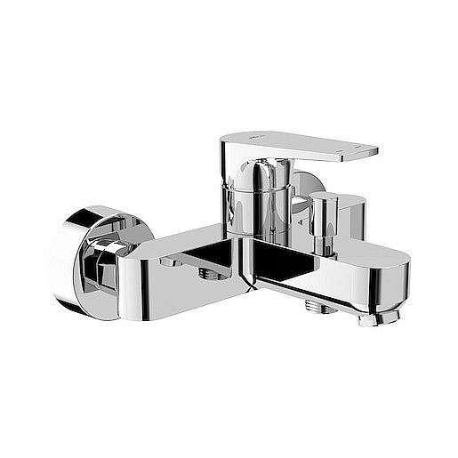 Vanová baterie Jika Cubito-N bez sprchového setu 150 mm chrom H3211X70044001