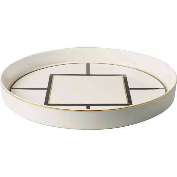 Villeroy & Boch MetroChic porcelánový podnos, Ø 33 cm