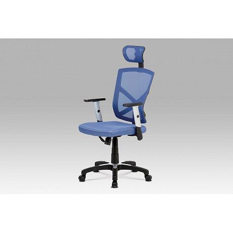Kancelářská židle BLUE, modrá - 59 x 61 x 113-122 cm