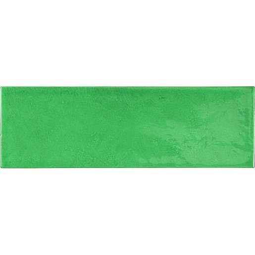 Obklad Equipe VILLAGE esmerald green 6,5x20 cm lesk VILLAGE25645