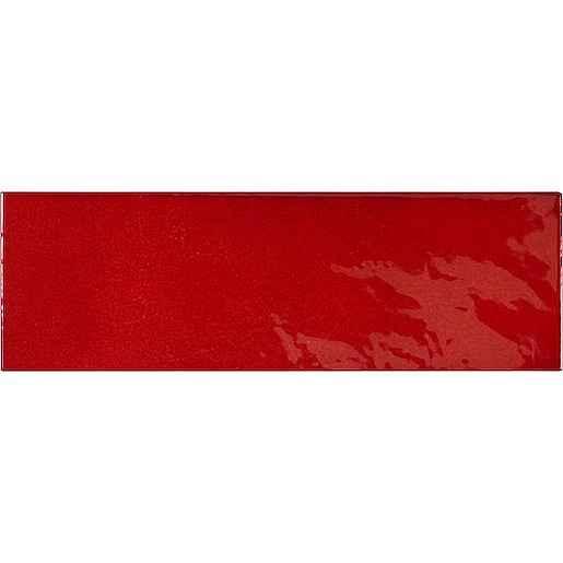 Obklad Equipe VILLAGE volcanic red 6,5x20 cm lesk VILLAGE25633