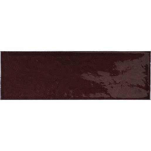 Obklad Equipe VILLAGE walnut brown 6,5x20 cm lesk VILLAGE25644