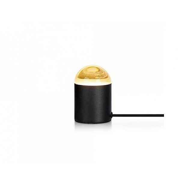 Černá stolní lampa Markslöjd Jinx