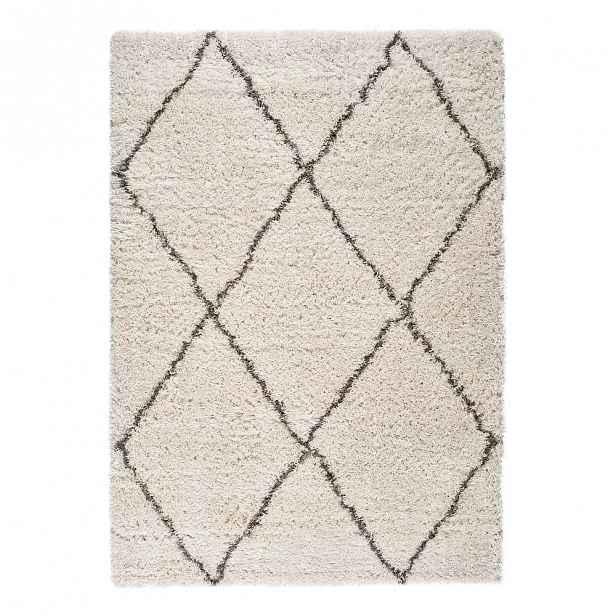 Béžový koberec Universal Lynn Lines, 160 x 230 cm