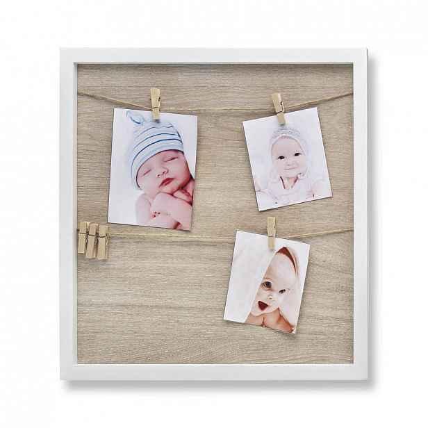 XXXLutz RÁMY NA OBRAZY, 4 foto, 34,4/34,4/15 cm My Baby Lou - Fotorámečky & obrazové rámy - 006318000101