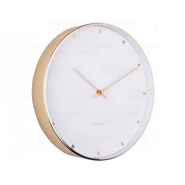 Designové nástěnné hodiny 5776WH Karlsson 27cm