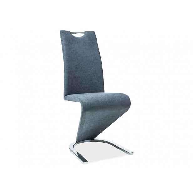 Jídelní židle Pavaroti , grafit HELCEL