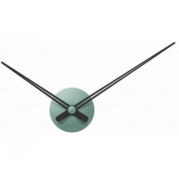Designové nástěnné hodiny 5838GR Karlsson green 44cm