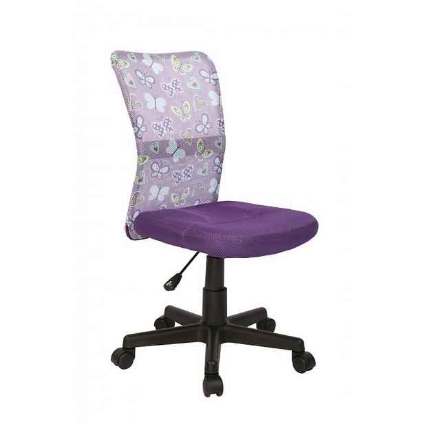 Dětská židle Diego, fialová HELCEL